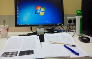 my work station at office