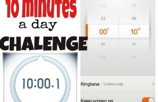 10 minutes a day challenge