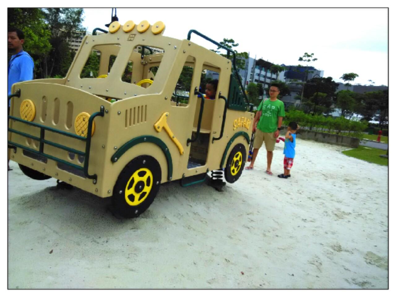 shaky safari jeep choa chu kang park