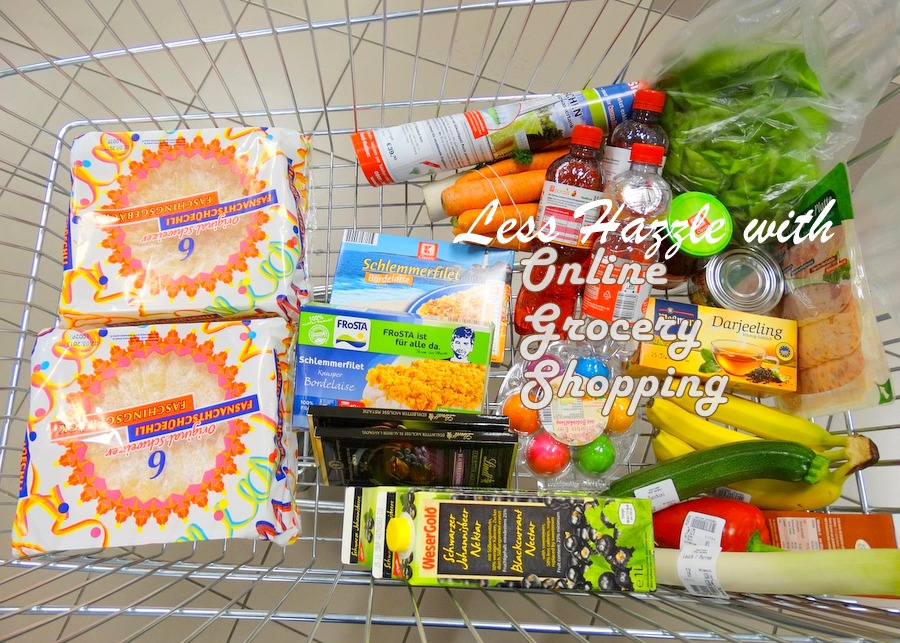Online grocery shopping, perfect for busy moms