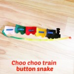 Choo Choo Train Button Snake
