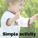 Simple activity to drain your child's energy