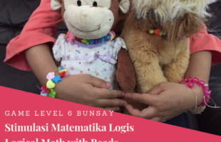 Menstimulus Matematika Logis Hari Ke-5:Logical Math With Beads