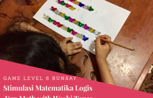 Menstimulus Matematika Logis Hari Ke-9: Fun Math With Washi Tapes