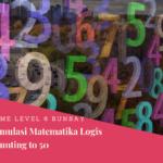 Menstimulus Matematika Logis Hari Ke-1: Berhitung Sampai 50