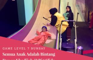 Game Level 7 Semua Anak Adalah Bintang Hari Ke- 11: Khadijah & Big Slide