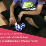 Game Level 7 Semua Anak Adalah Bintang Hari Ke- 9: Abdurrahman& Snake Puzzle
