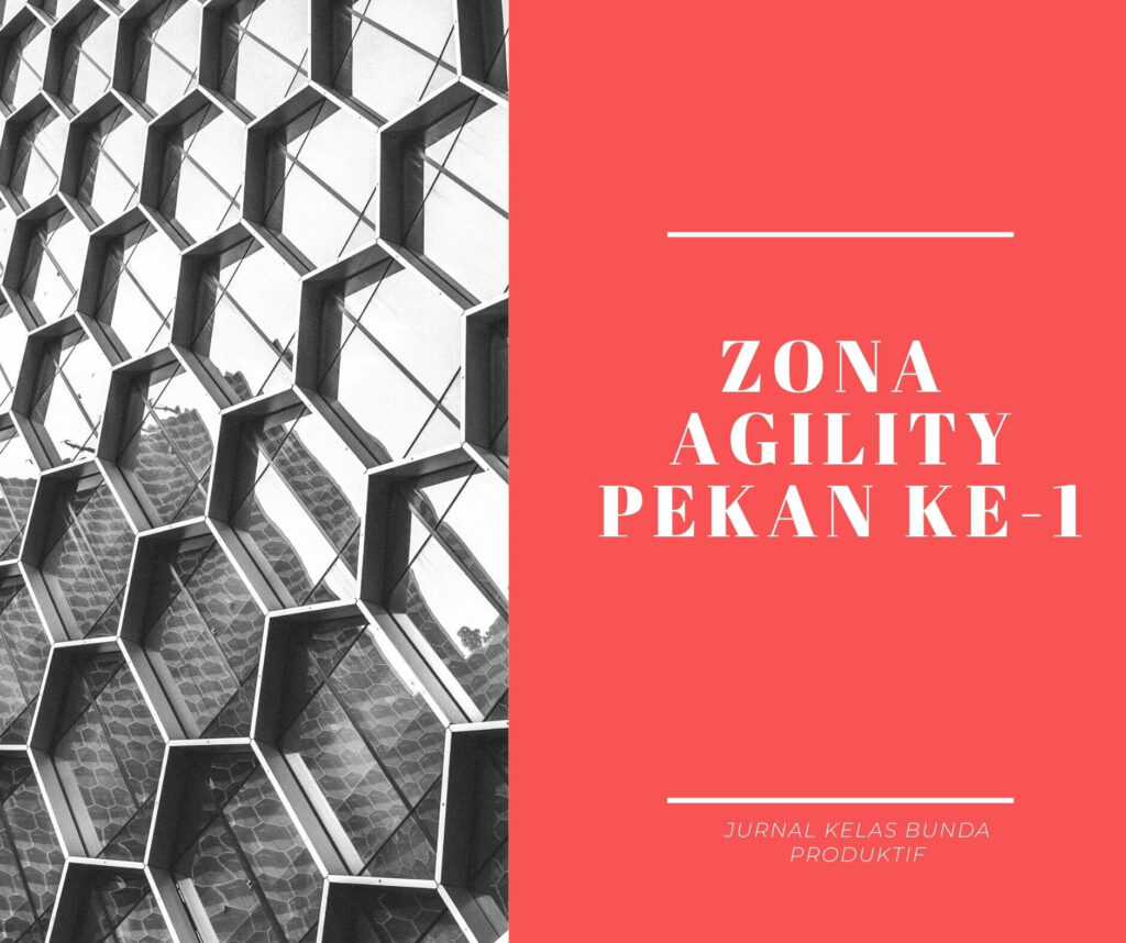 jurnal bunda produktif zona agility
